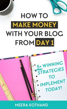 Are you looking for ideas and tips to make money from your blog? Are you wondering how to generate passive income? Did you know that just 5% of bloggers make money online? In this post I share some ideas and tips on how you can be one of them. Click to download the checklist to a money making blog.#blogging #making #money #tips