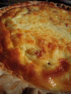 Julia Child's Quiche - the best quiche recipe! Only 5 ingredients!