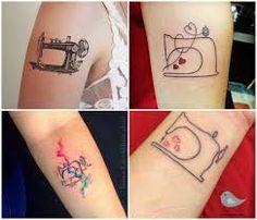 Resultado de imagem para tattoo costura