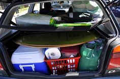 Tips on living in a car or van.