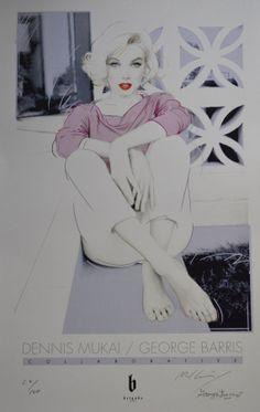 ❤Marilyn Monroe Art ~*❥*~❤