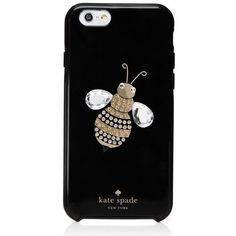 Kate Spade Jeweled Queen Bee Iphone 6 Case ($45) ❤ liked on Polyvore featuring accessories, tech accessories, phone cases, case, electronics, phones and kate spade