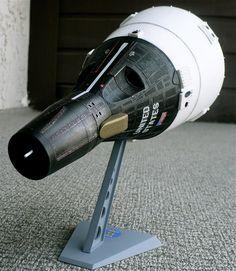 Revell's 1/24 scale Gemini Space Capsule.