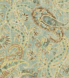 Home Decor Print Fabric-Richloom Studio Caitlin Horizon -bench in family room?