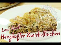 Low-Carb Zwiebelkuchen Rezept - herzhaft & saftig