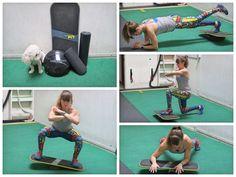 16 balance board exercises
