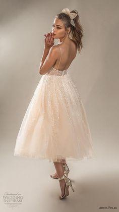 "d86021ac511 Arava Polak 2019 Wedding Dresses — ""Winds of Blossom"" Bridal Collection"