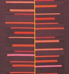 Minimalist quilts | Roots, Ginger Detail