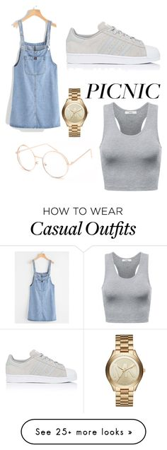 """Casual Picnic Date"" by singsoong on Polyvore featuring adidas, Michael Kors and Full Tilt"