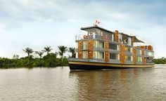 Off-The-Radar River Voyages: Aqua Expeditions in Pacaya Samiria National Reserve, Perú Ecuador, Places To Travel, Places To Go, All Inclusive Cruises, Honeymoon Cruises, Luxury Cruise Lines, Floating Hotel, Aqua, Amazon River