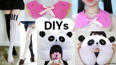 3 Creative DIYs: DIY Piano Thigh Highs+DIY Panda Travel Neck Pillow+DIY ...