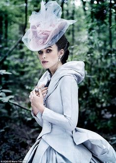 Keira Knightley in her role as the title character in the new movie adaptation of Anna Karenina. Read more: http://www.dailymail.co.uk/tvshowbiz/article-2204498/Keira-Knightley-reveals-career-left-isolated-unhappy.html#ixzz2BfqWkwUo Follow us: @MailOnline on Twitter | DailyMail on Facebook