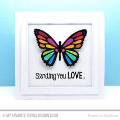 my favorite things lacy butterflies | My Favorite Things Die-namics Flutter Of Butterflies Lace (MFT-704)