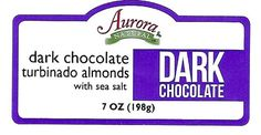 Aurora Products, Inc. Announces Voluntary Nationwide Recall Due to Undeclared Allergens in Certain Dark Chocolate Covered products. This Includes Products Produced Under Aurora Natural Brand and Private Labeled Products Packed by or Distributed By Aurora Products, Inc.