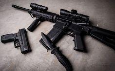 AK 47 Pistol and Knife Black Weapons HD Desktop Wallpaper Gun Aesthetic, Hd Wallpaper 4k, Whatsapp Dp Images, Aliens Movie, Assault Rifle, Hd Desktop, Hd Images, Fun To Be One, Aesthetic Wallpapers