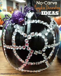 No-carve pumpkin decorating ideas for Halloween