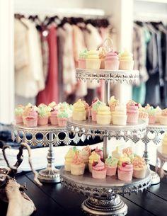 darling mini cupcakes from Gigi's Cupcakes in Savannah, Georgia