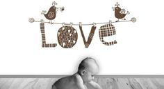 Vinilo decorativo para bebes