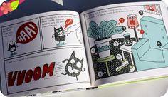 """Adopte un Glurb Texte et illustrations d'Elise Gravel Publié en 2014 par les éditions Didier jeunesse dans la collection """"Balloon Toons"""""""