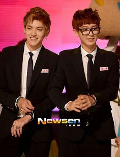 Exo Kris and Chanyeol