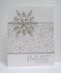 Gorgeous card by Lin using Some Simon Says Stamp Exclusives.  December 2013