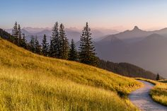 Sunset in the Alps | von Achim Thomae