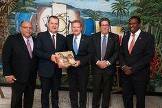 Gobernación firmará convenio de hermanamiento con Aruba