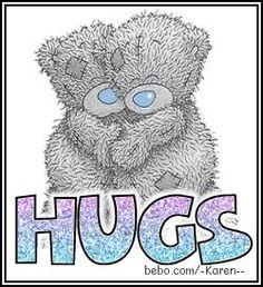 Hugs From Tatty Teddy Couple Teddy Bear Quotes, Teddy Bear Hug, Teddy Bear Images, Teddy Bear Pictures, Cute Teddy Bears, Love Hug, Love Bear, Tatty Teddy, Cute Images