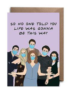 Quarantined Friends TV Show Card