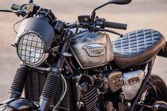 Triumph Cafe Racer, Triumph Scrambler, Cafe Racer Bikes, Triumph Bonneville, Triumph Motorcycles, Thunderbird Cafe, Triumph Legend, Desert Sled, Triumph Speed Triple
