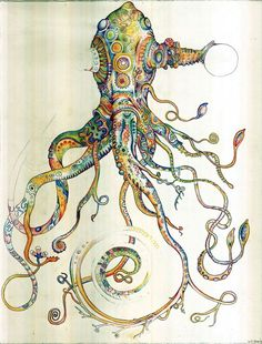 Space Octopus - Will Santino