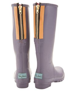 mulberry wellies, by Joules