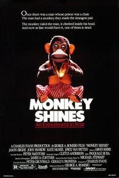 Monkey Shines (1988) Poster