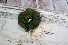 Olive Wood Rose Pin