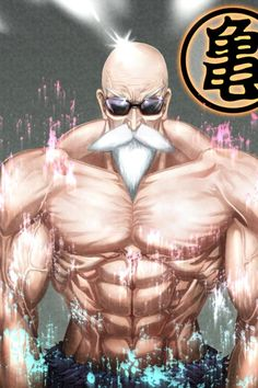 DBZ Master Roshi art wallpaper