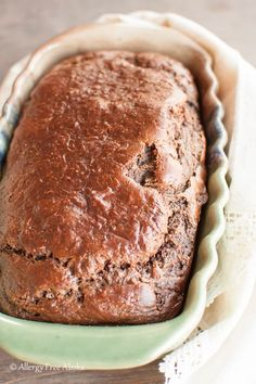 Paleo Chocolate Zucchini Bread - Allergy Free Alaska
