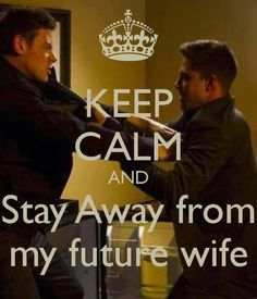 Keep Calm! Finn fights for his right to be with the one he loves.