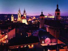 Experience a glorious view over Prague // Buddah Bar