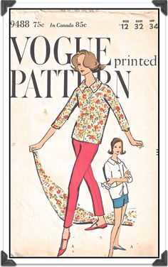 VOGUE Pattern 9488  Misses Jackie Skinny by iKnitiSew