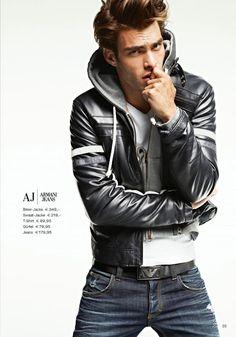 jon kortajarena (AJ Armani Jeans ad)