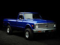 Cool blue truck