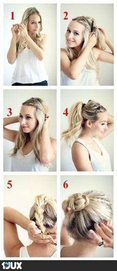 Hair tutorial knödel Zopf