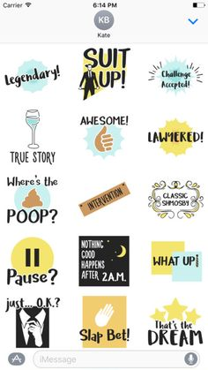 HIMYM Sticker Pack screenshot 1 a letra How I Met Your Mother, Himym Memes, Bujo, I Meet You, Stickers, Planner, True Stories, Movies And Tv Shows, Creations
