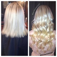 Before and after dreamcatchers hair extensions dreamcatcher hair extensions blonde hair long hair ombr kenra color pmusecretfo Images