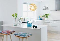 Køkken med appetit på farver - BO BEDRE