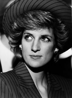 Diana by Ken Lennox, via Flickr She just had such a style about her.  Love this picture.