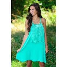 Fame Is Worth The Risk Dress-Jade - $39.00