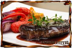 Red wine sauce for steak