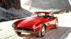 BMW 507. Bmw Classic Cars, Classic Sports Cars, Retro Cars, Vintage Cars, Vintage Metal, Jaguar, Ferrari, Bmw 507, Automobile