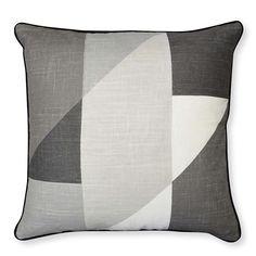 Cube Charcoal Cushion 50cm